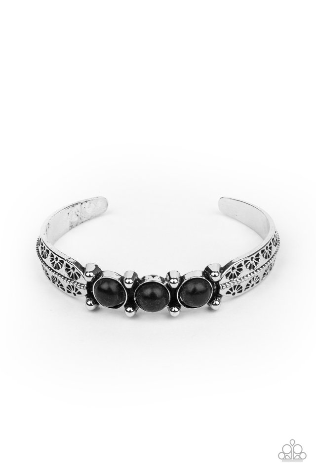 Mojave Glyphs - Black - Paparazzi Bracelet Image