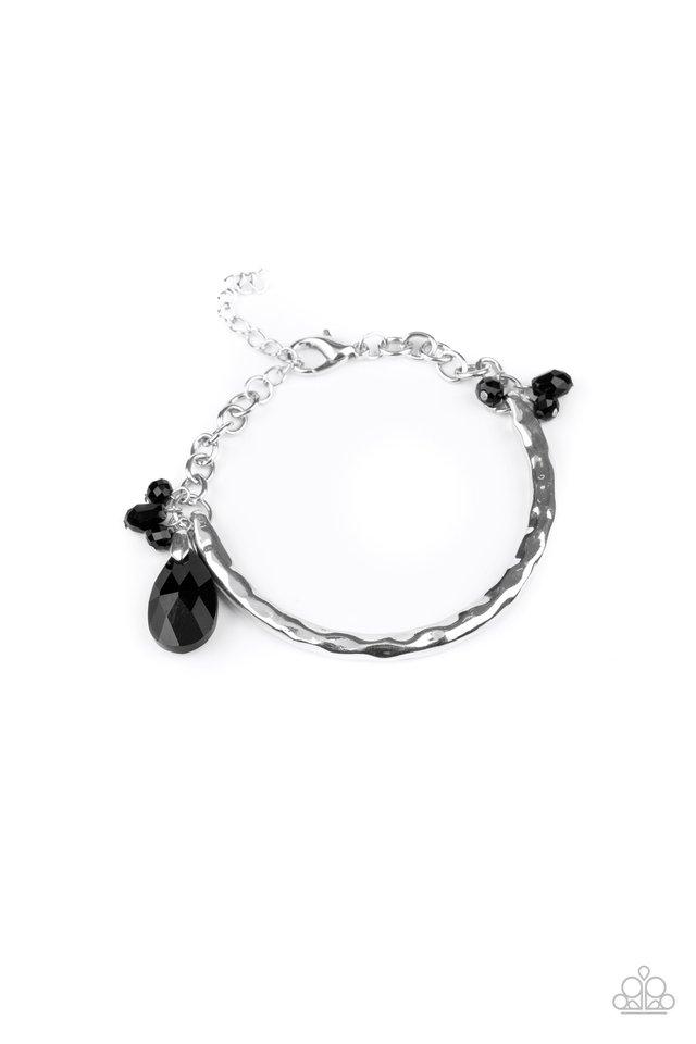 Let Yourself GLOW - Black - Paparazzi Bracelet Image