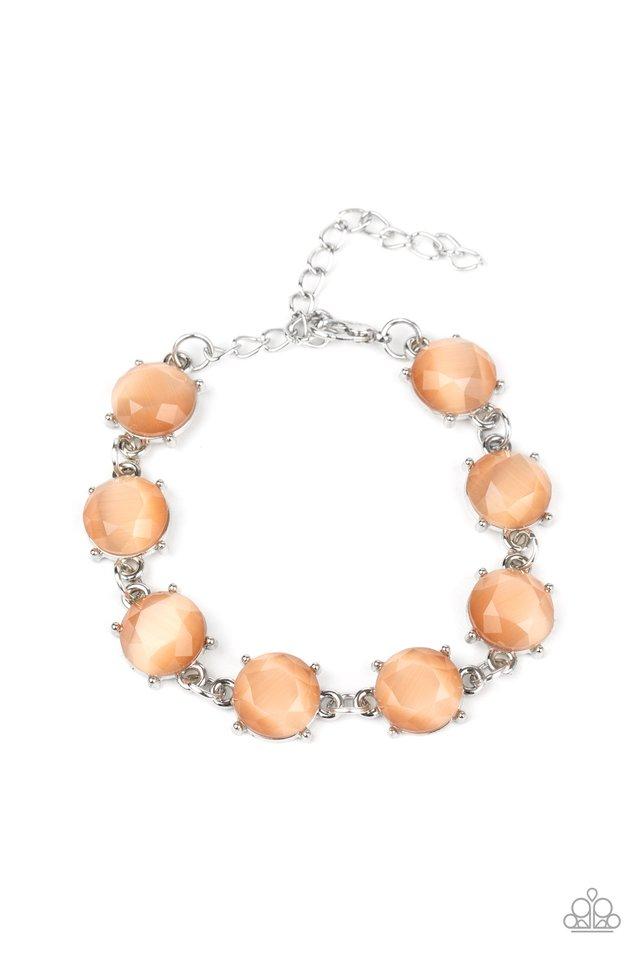 Ms. GLOW-It-All - Orange - Paparazzi Bracelet Image