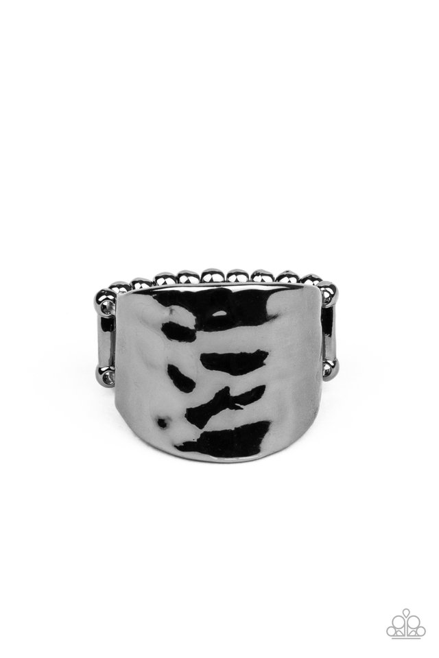 Check Your Reflection - Black - Paparazzi Ring Image