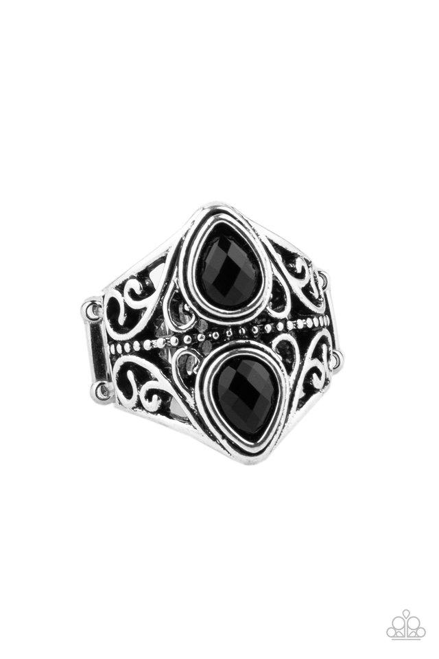 Rural Revel - Black - Paparazzi Ring Image