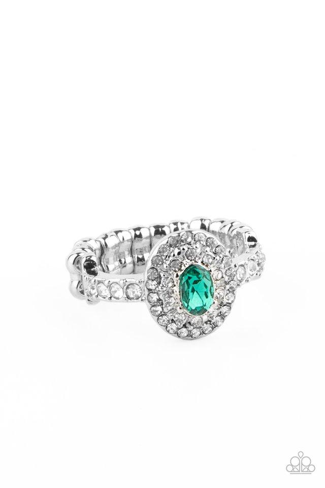 I Said Yes - Green - Paparazzi Ring Image