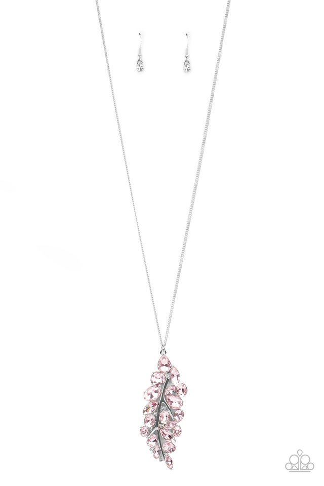 Take a Final BOUGH - Pink - Paparazzi Necklace Image