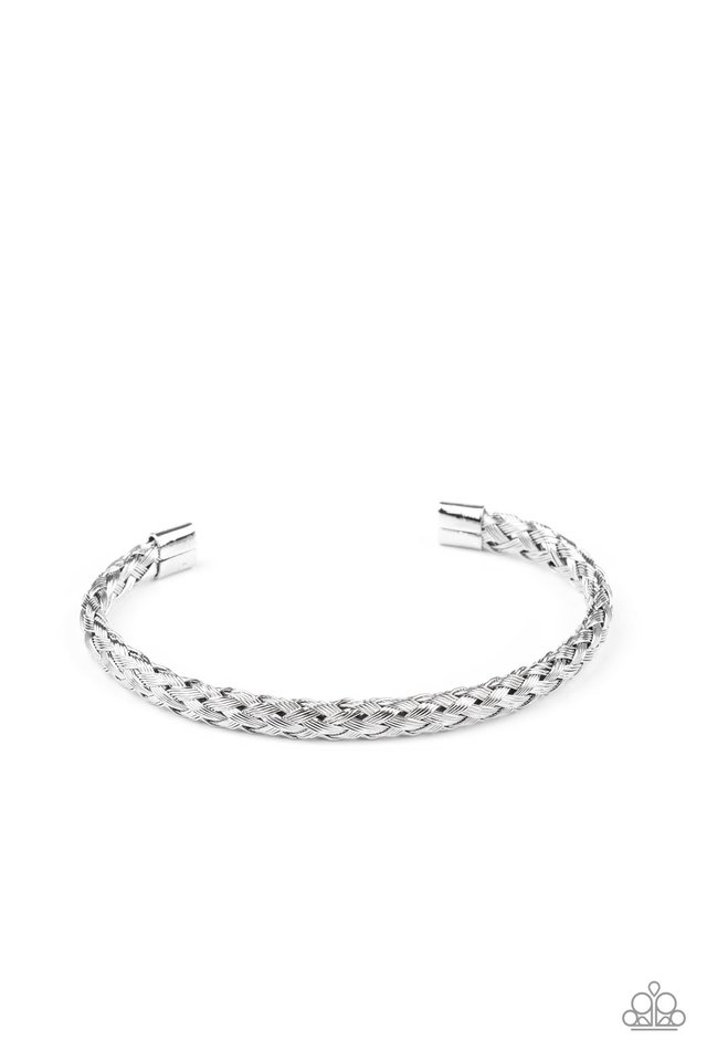 Metalhead Medley - Silver - Paparazzi Bracelet Image