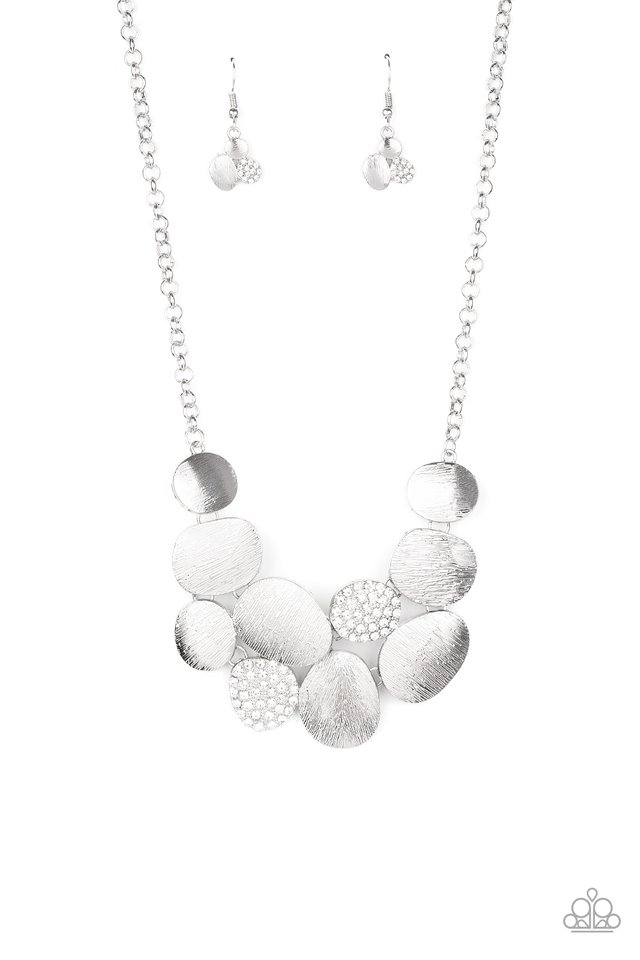 A Hard LUXE Story - White - Paparazzi Necklace Image