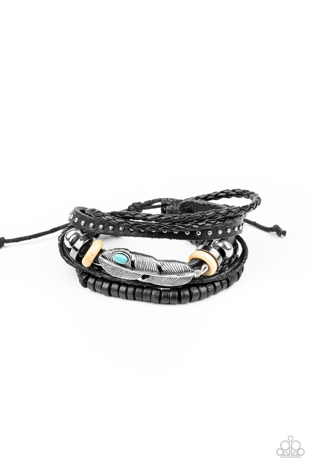 Quill Quarry - Blue - Paparazzi Bracelet Image
