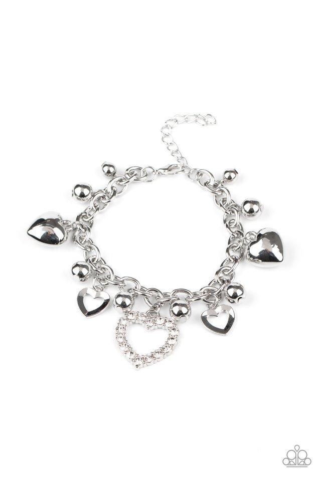 Beautifully Big-Hearted - Paparazzi Bracelet Image