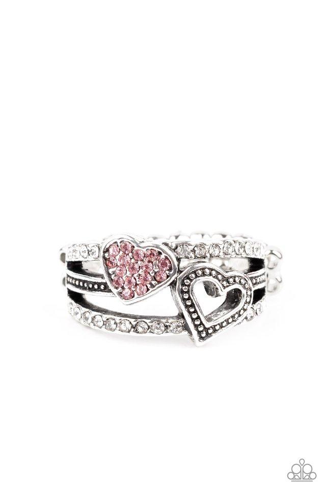 You Make My Heart BLING - Pink - Paparazzi Ring Image