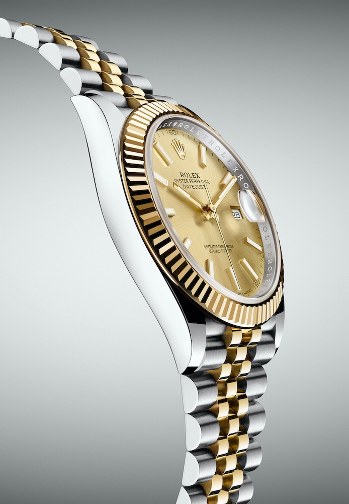 Rolex Oyster Perpetual Datejust 41mm. Gold and Steel.