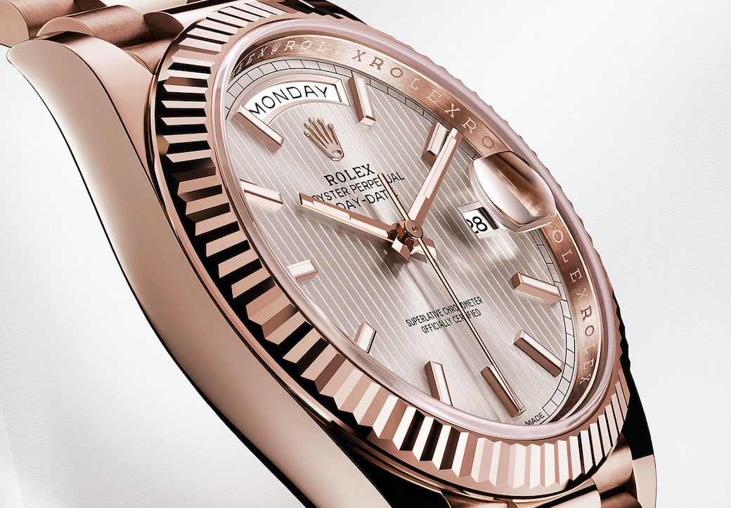 Rolex Day-Date 40 Ever Rose Gold.