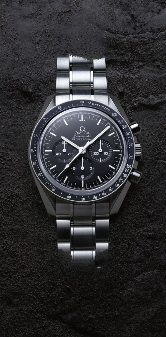 Omega Speedmaster Moonwatch Chronograph Watch 31132403002001