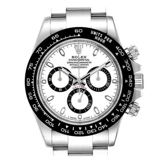 Rolex Ceramic Daytona Bezel Dial Chronograph Men Watch 116500