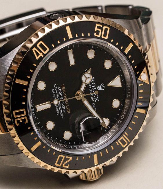 Rolex Sea-Dweller 126603 Rolesor