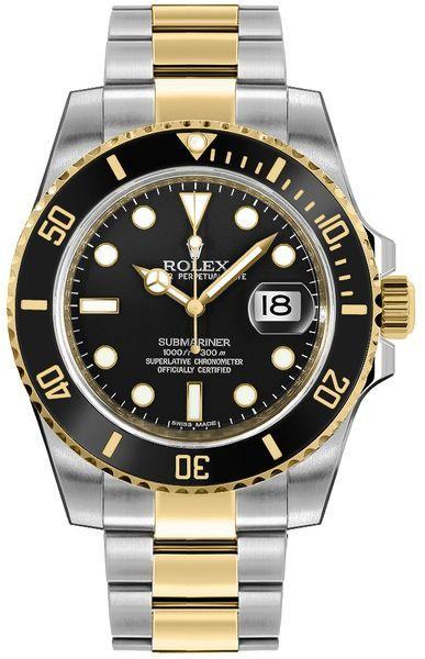 Rolex Submariner Black Dial 116613LN