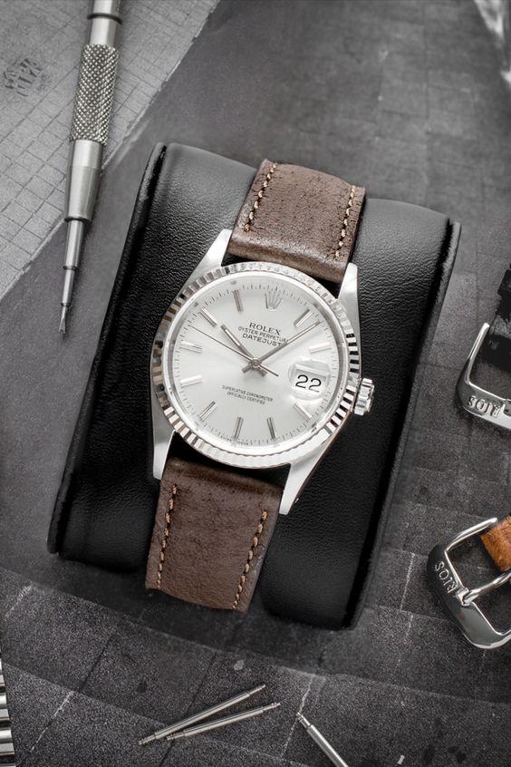 Rolex Datejust Rios1931 Tobacco Pigskin  Datejust
