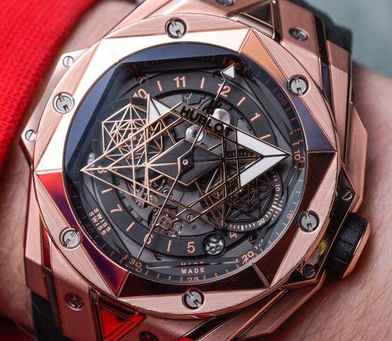 Hublot Big Bang Sang Bleu II Chronograph 2019