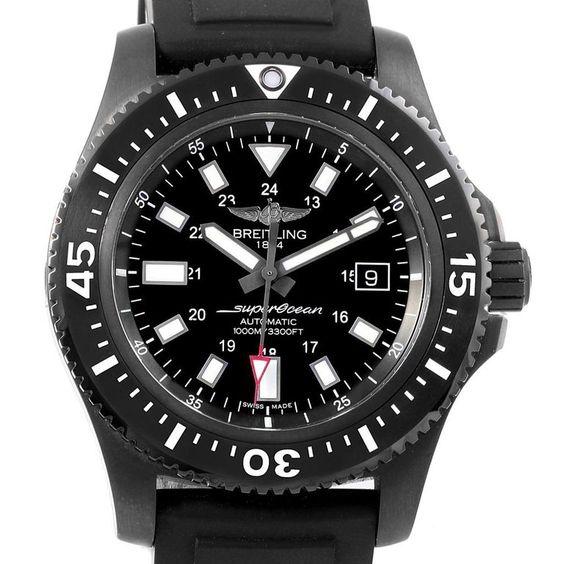 Breitling Superocean 44 Special Blacksteel Men's Watch M17393