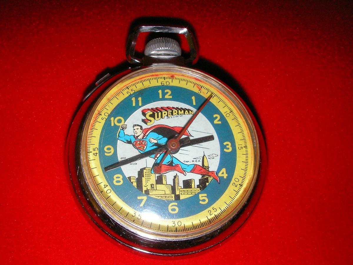 1959 Superman Pocket Watch