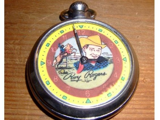 Roy Rogers Pocket Watch