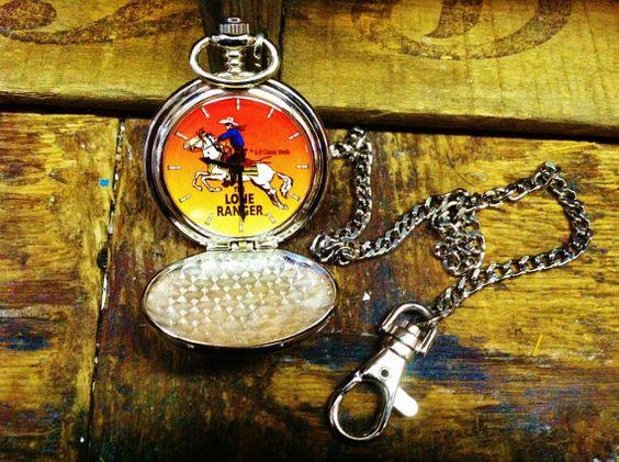 Lone Ranger Pocket Watch