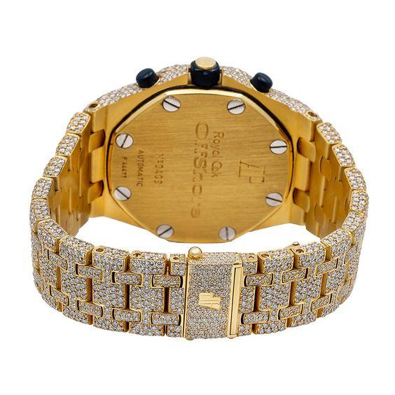 Audemars Piguet Royal Oak Offshore Chronograph 25721BA 42MM Champagne Dial With
