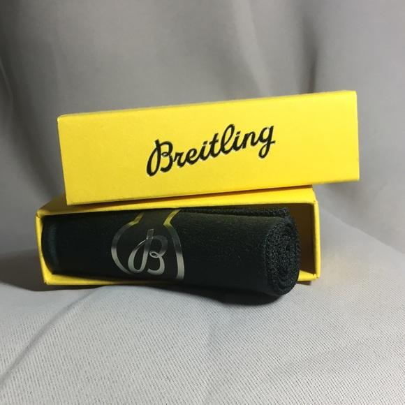 Breitling handling cleaning black Gloves