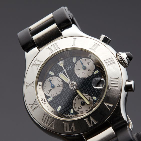 Cartier Must 21 Chronoscaph Quartz