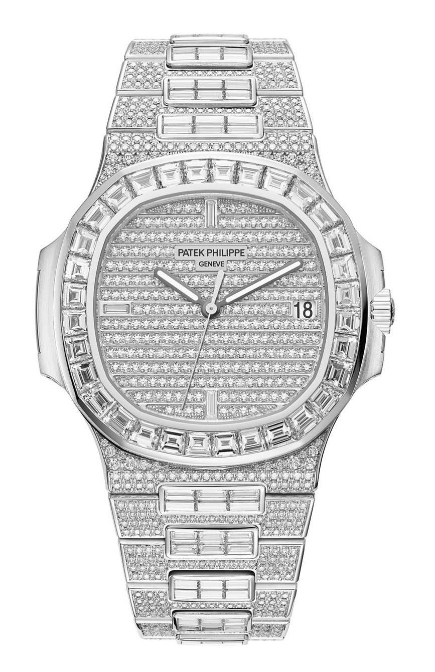 Patek Philippe Nautilus Diamonds 5719.
