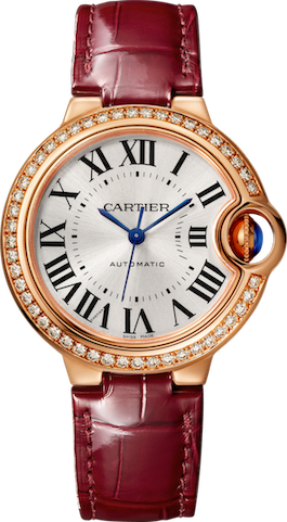 Cartier Ballon Bleu Diamond Watch. Photo Credit: Cartier