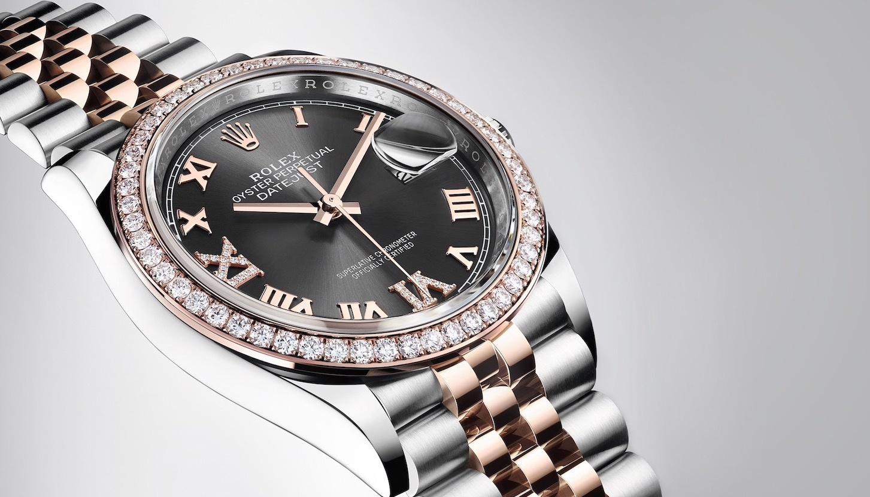 Diamond Rolex Datejust. Photo Credit: Rolex