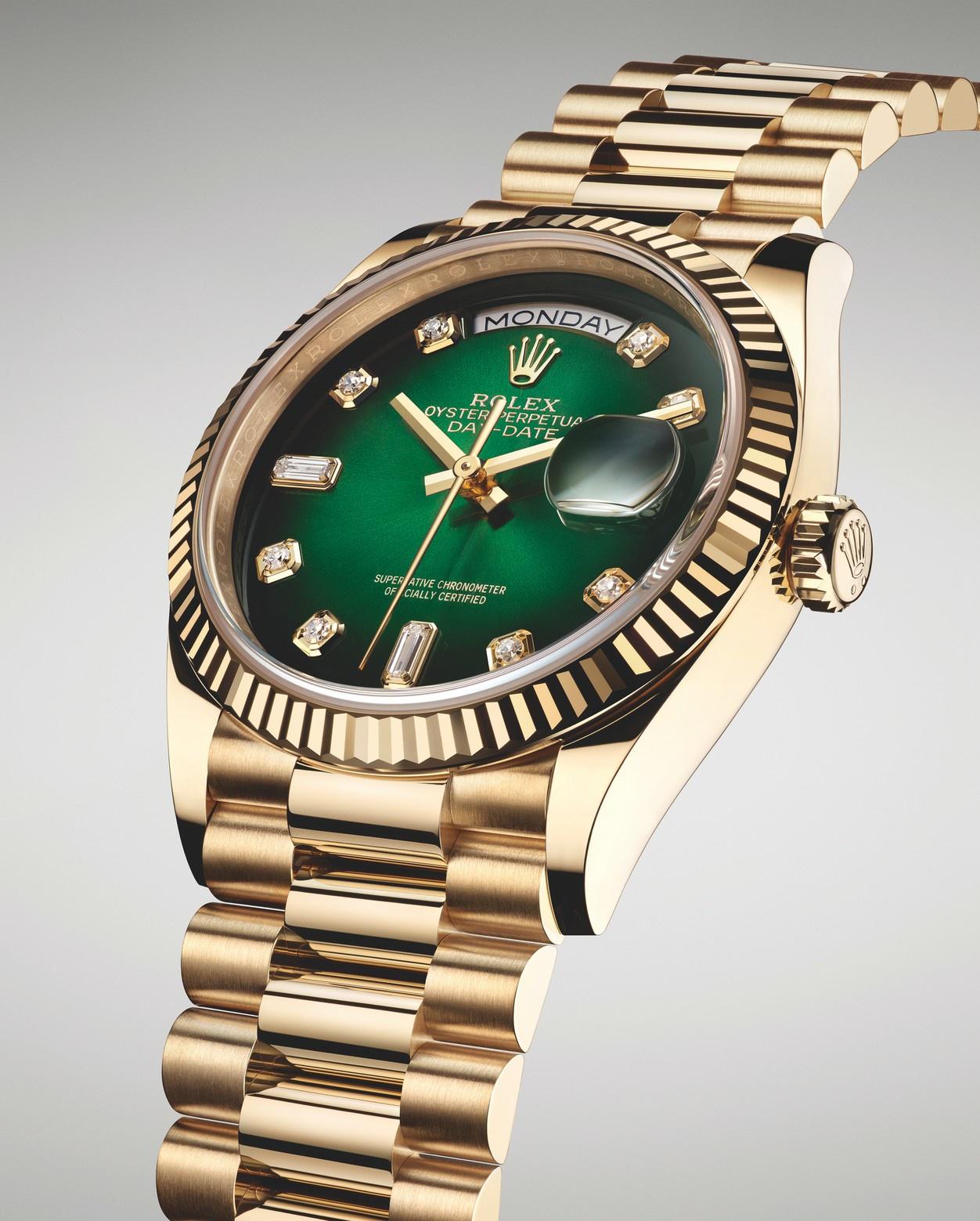 Diamond Rolex Day-Date.