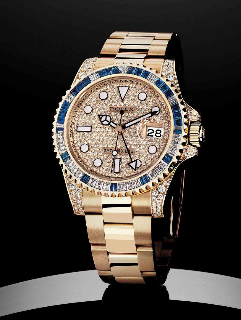 Diamond Rolex GMT-Master II.