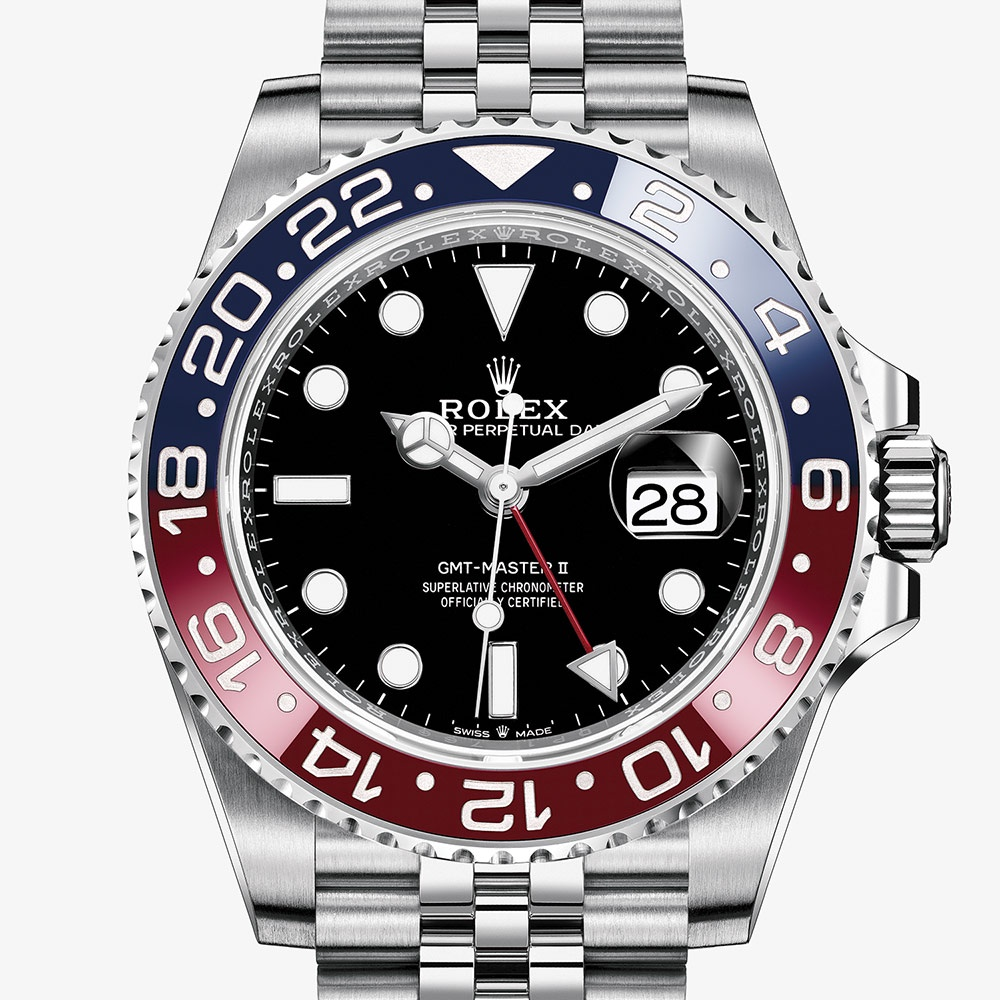 OYSTER PERPETUAL GMT-MASTER II Oyster, 40 mm, Oystersteel