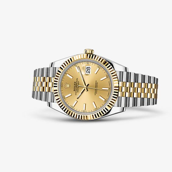 DATEJUST 41 Oyster, 41 mm, Oystersteel and yellow gold