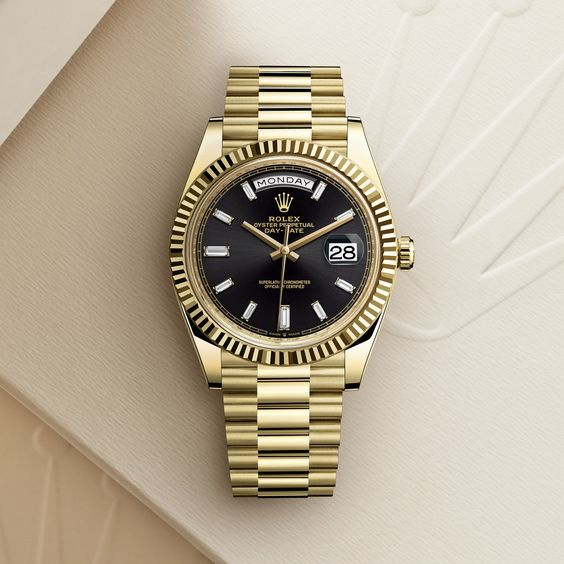 Rolex Day-Date 40 in yellow gold, 40 mm case