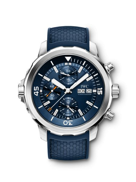 """IWC Aquatimer Chronograph Edition """"Expedition Jacques-Yves Cousteau"""" IW376805"""