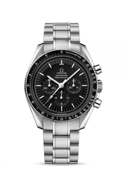 OMEGA Mens Speedmaster Moonwatch Professional Calibre 1863 Bracelet Watch 311.30.42.30.01.006