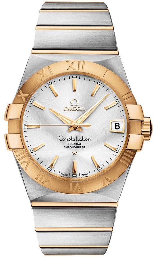 Omega Constellation Chronometer Mens Watch 123.20.38.21.02.002