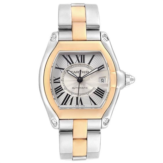 CARTIER ROADSTER YELLOW GOLD AUTOMATIC