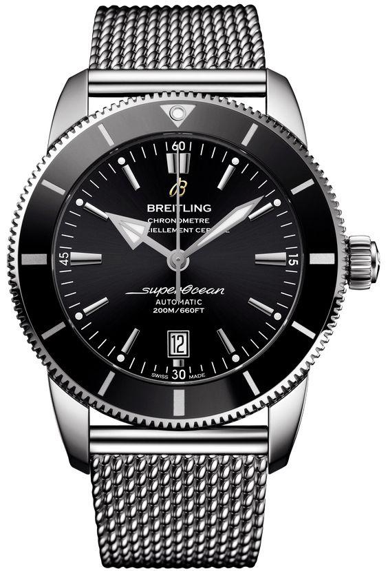 Breitling Watch Superocean Heritage II B20 Automatic 46 Ocean Classic Bracelet AB2020121B1A1