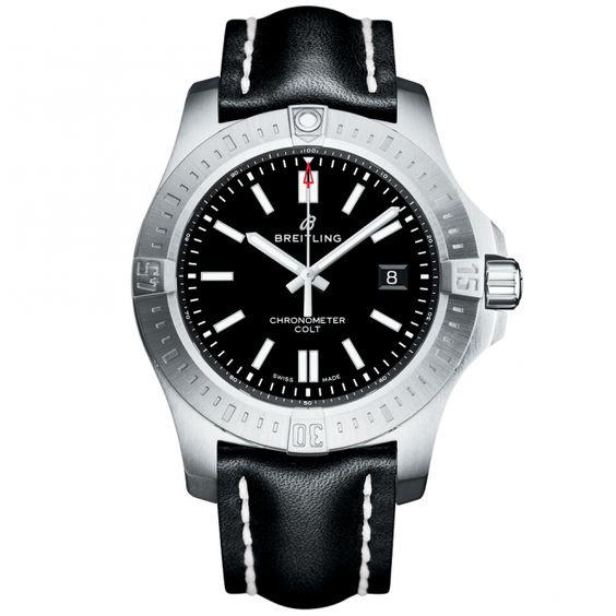 Breitling Chronomat Colt 44mm Volcano Black Dial Men's Automatic Watch