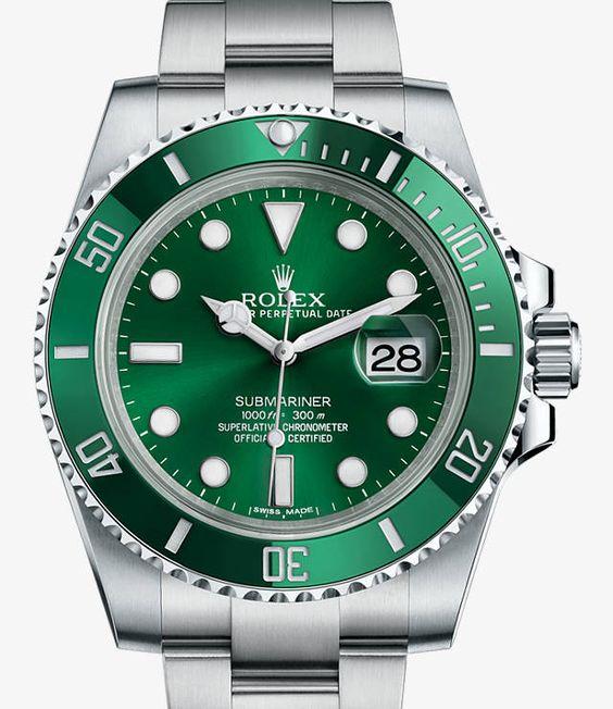 Rolex Submariner Date- Acciaio 904L – M116610LV-0002