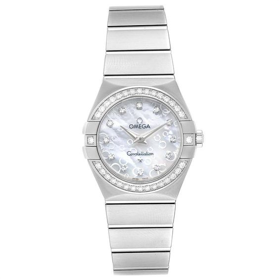 Omega Constellation MOP Diamonds Ladies Watch 123.15.27.60.55.005