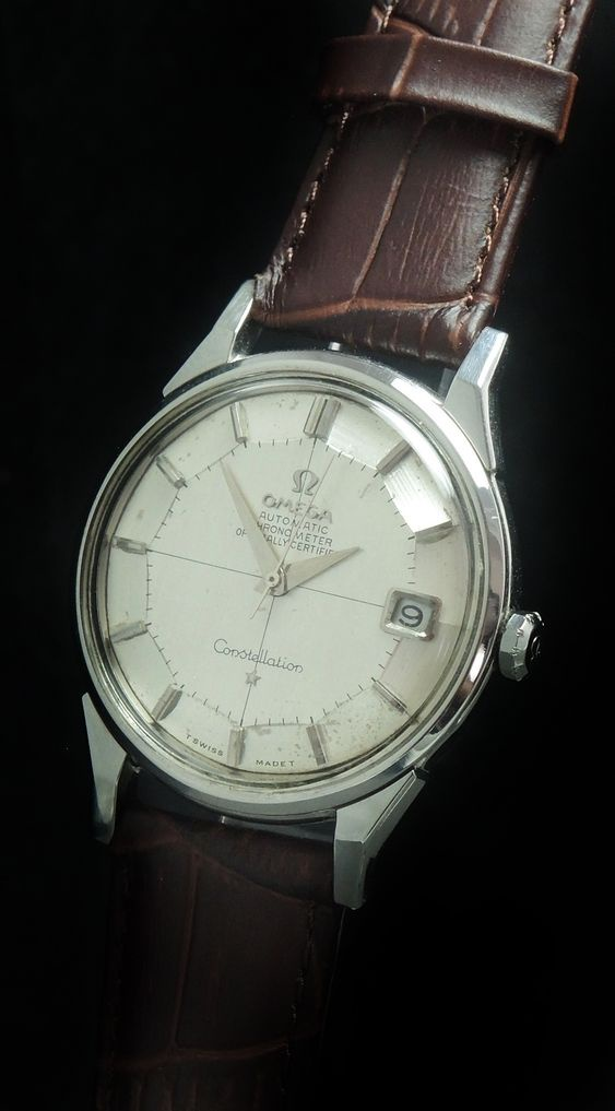 Omega Constellation Pie Pan Steel Automatic Vintage
