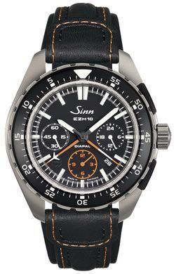 Sinn Watch EZM 10 Testaf Leather 950.011 LEATHER