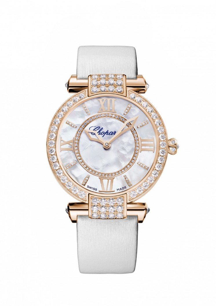 Chopard Imperiale Mother of Pearl with Diamonds Dial Ladies Watch 384242-5005
