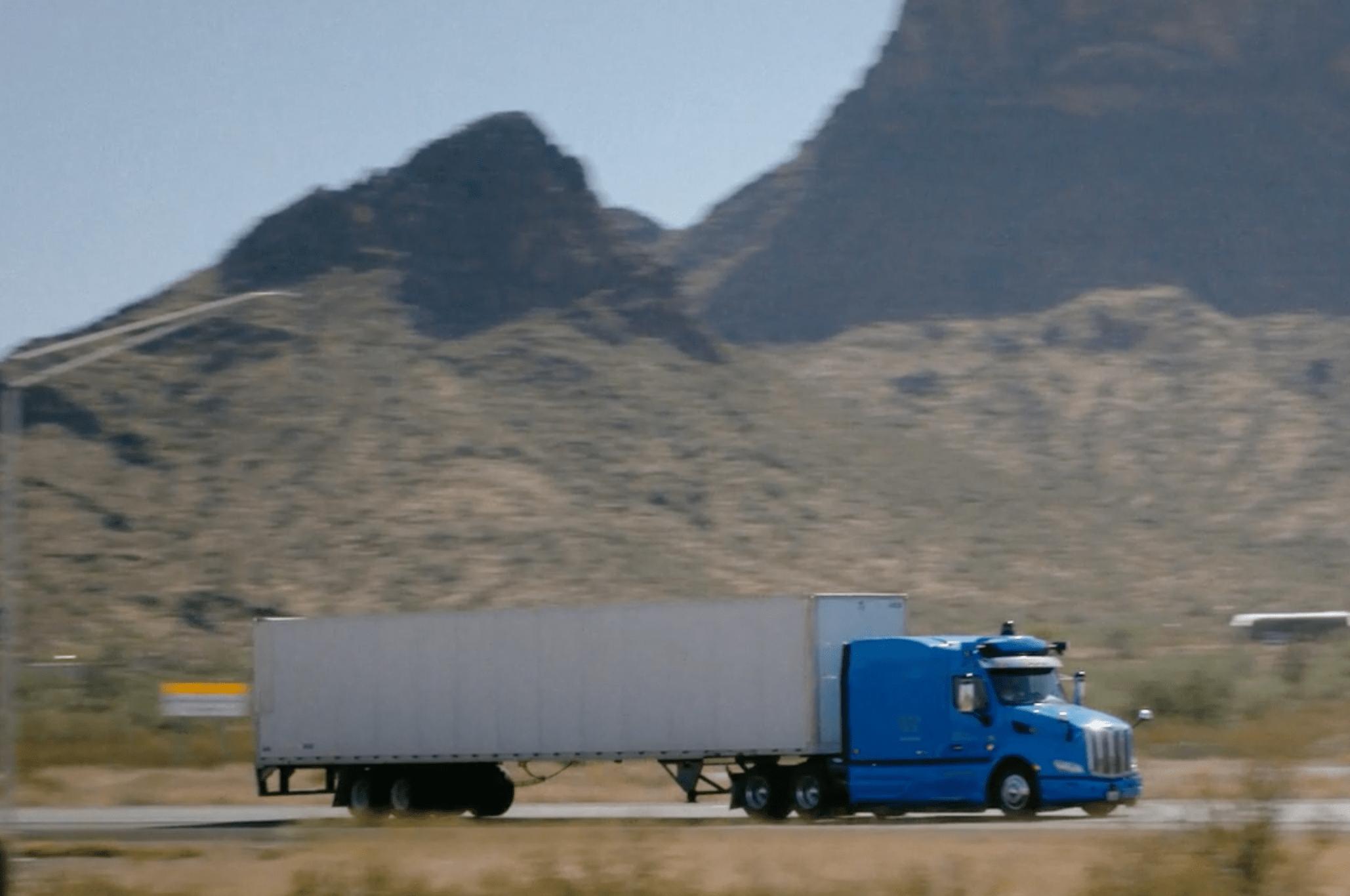 Waymo Via trucking