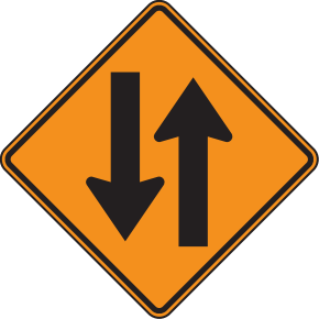 File:Contraflow sign.png