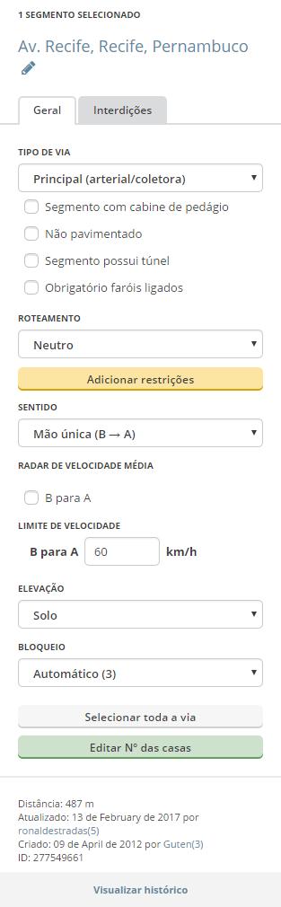 Ptbr WME - Interface - painel esquerdo - segmento selecionado.png