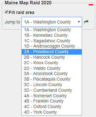 Choose the group and county
